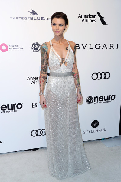 Ruby Rose Sheer Dress