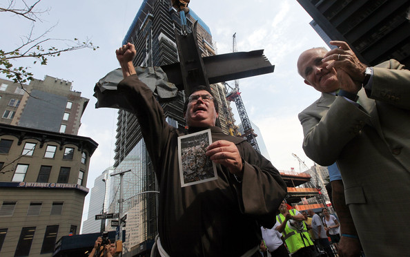 World Trade Center Cross Moves To Nat'l September 11th Memorial And Museum