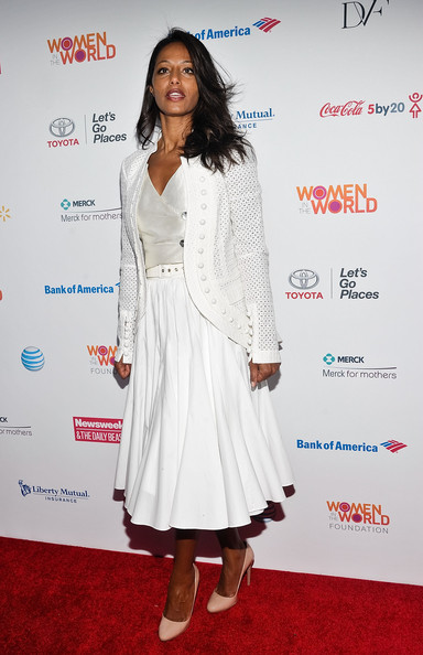 Rula Jebreal Long Skirt