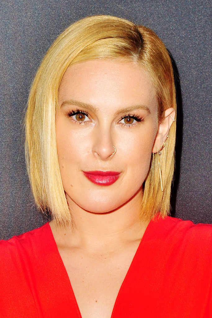 Rumer Willis Bob Short Hairstyles Lookbook Stylebistro