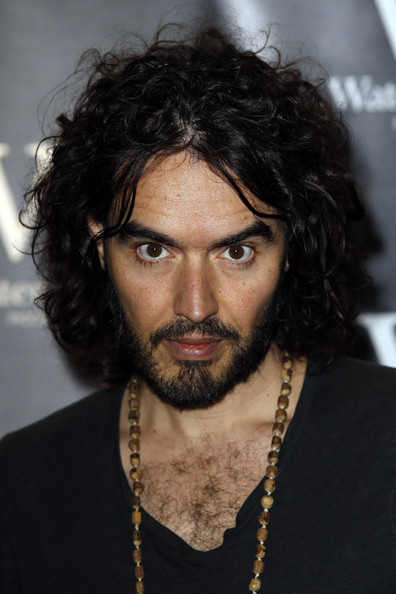 Russell Brand's Book Signing