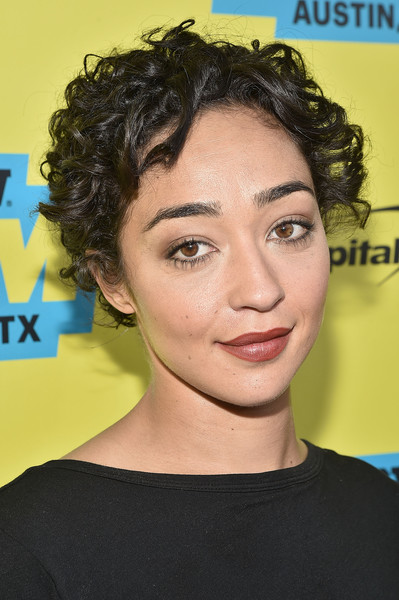 Ruth Negga Short Curls [hair,face,hairstyle,eyebrow,chin,forehead,black hair,beauty,ringlet,lip,preacher,ruth negga,screening,paramount theatre,austin,texas,film interactive festival,sxsw music]