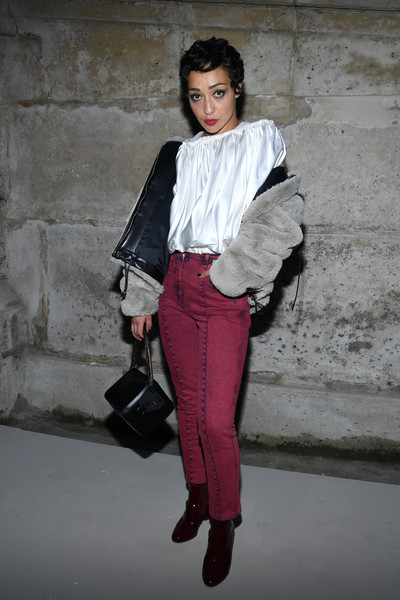 Ruth Negga Loose Blouse