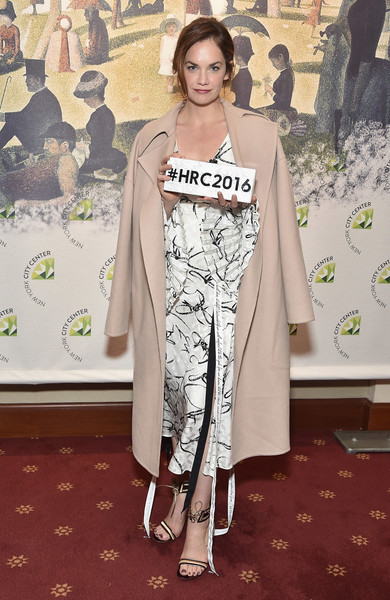 Ruth Wilson Wool Coat
