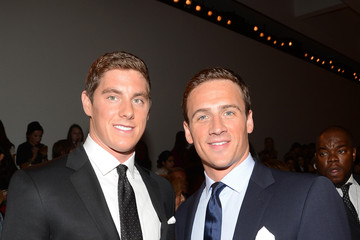 Ryan Lochte Conor Dwyer Ralph Lauren - Front Row - Spring 2013 Mercedes-Benz Fashion Week