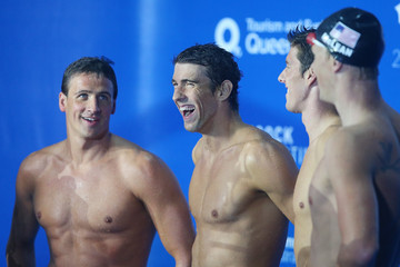Ryan Lochte Conor Dwyer 2014 Pan Pacific Championships: Day 2