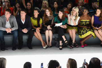Ryan Lochte Conor Dwyer Milly By Michelle Smith - Front Row - Spring 2013 Mercedes-Benz Fashion Week