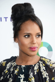 Kerry Washington got majorly retro with this towering beehive at the SAG-AFTRA golf fundraiser.