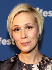 Liza Weil attended aTVfest wearing a short layered cut.