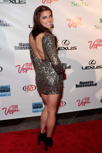 More Pics of Alex Morgan Beaded Dress (1 of 12) - Alex Morgan Lookbook - StyleBistro