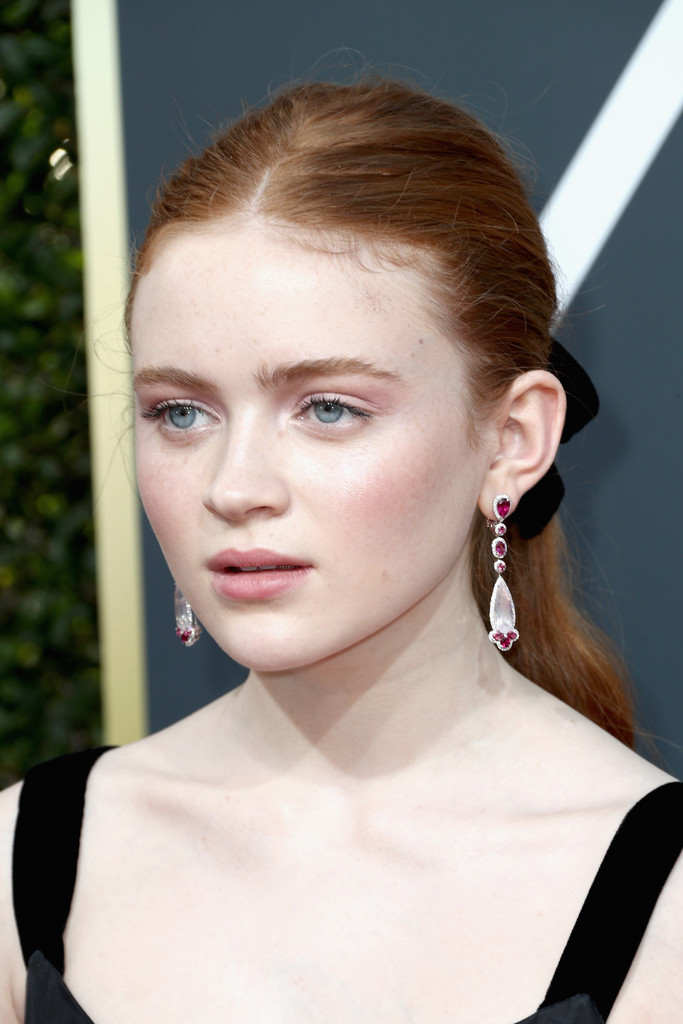 Sadie Sink Ponytail Sadie Sink Long Hairstyles Lookbook