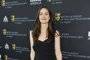 Saffron Burrows Little Black Dress