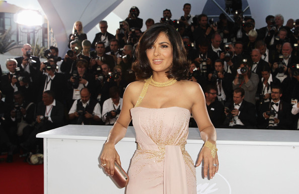 Salma Hayek Box Clutch