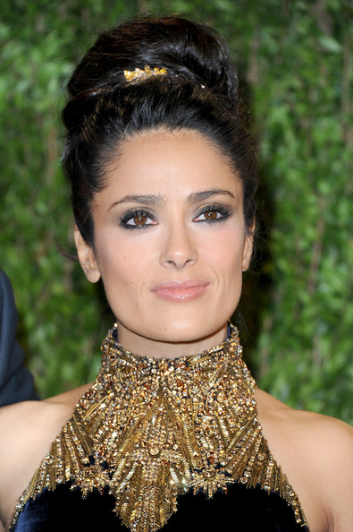 Salma Hayek Smoky Eyes