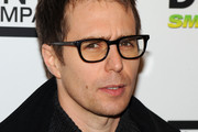 Sam Rockwell Square Sunglasses