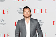 Sam Worthington Men's Suit