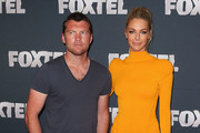 Sam Worthington V-Neck Tee