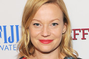 Samantha Mathis Red Lipstick