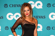 Samara Weaving One Shoulder Dress