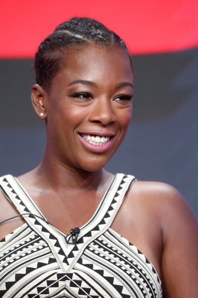 Samira Wiley Braided Updo
