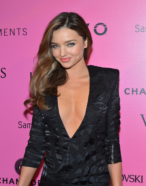 More Pics of Miranda Kerr Peep Toe Pumps (1 of 2) - Miranda Kerr Lookbook - StyleBistro