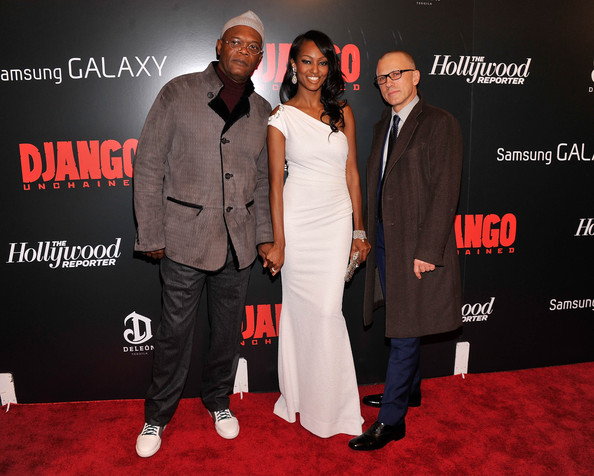 Celebs at a Screening of 'Django Unchained'