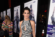 Sandra Bullock Cutout Dress