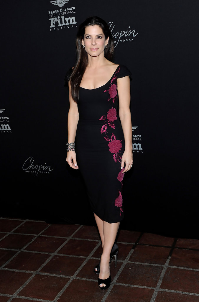 Sandra Bullock Cocktail Dress Sandra Bullock Dresses