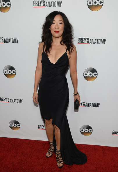 Sandra Oh Fishtail Dress