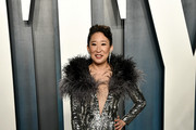 Sandra Oh Sequin Dress