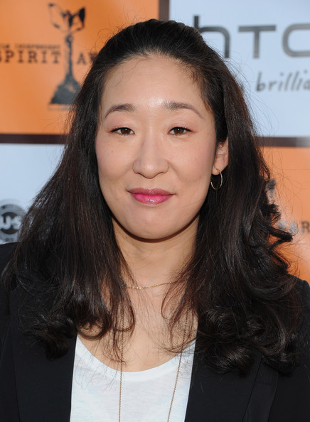 Sandra Oh Half Up Half Down