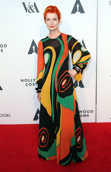 Sandy Powell Print Dress