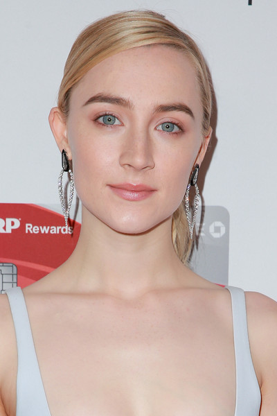 Saoirse Ronan Dangling Diamond Earrings