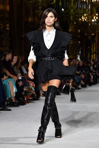 Sara Sampaio Over the Knee Boots