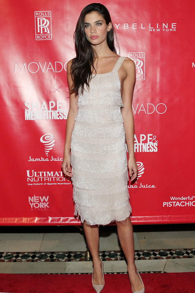 Sara Sampaio Beaded Dress Sara Sampaio Clothes Looks