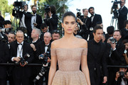 Sara Sampaio Off-the-Shoulder Dress