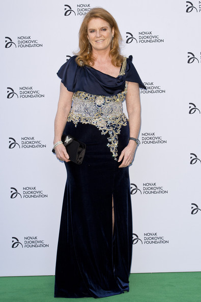 Sarah Ferguson Evening Dress