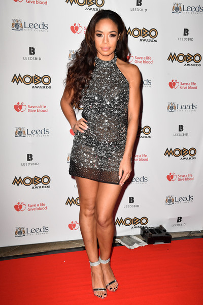 Sarah-Jane Crawford Sheer Dress