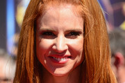 Sarah Rafferty Half Up Half Down