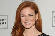 Sarah Rafferty Long Side Part