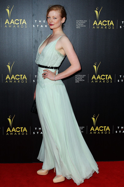 Sarah Snook Evening Dress