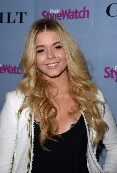 Sasha Pieterse Long Curls