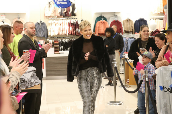 Savannah Chrisley Faux Fur Coat [event,fashion,tourism,shopping,crowd,creative director,savannah chrisley,rampage,tv personality,appearance,belk,tennessee,franklin,rampage x,savannah chrisley personal appearance]