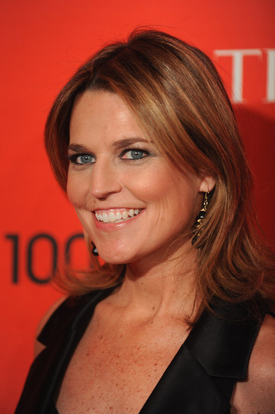 Savannah Guthrie Hair