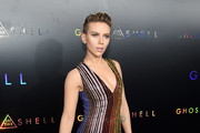 Scarlett Johansson Beaded Dress