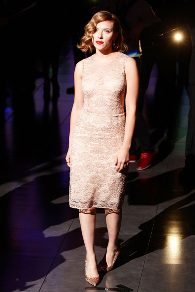 Scarlett Johansson Cocktail Dress