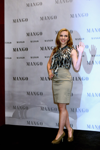 Scarlett Johansson Shoes