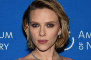Scarlett Johansson Layered Diamond Necklace