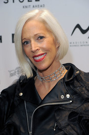 Linda Fargo sported a perfectly neat bob at the Language of Fashion event.