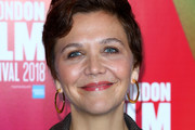 Maggie Gyllenhaal Short Side Part